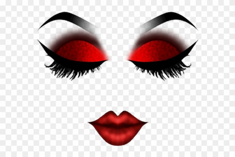 Roblox Makeup Mask Costume Dressup Red
