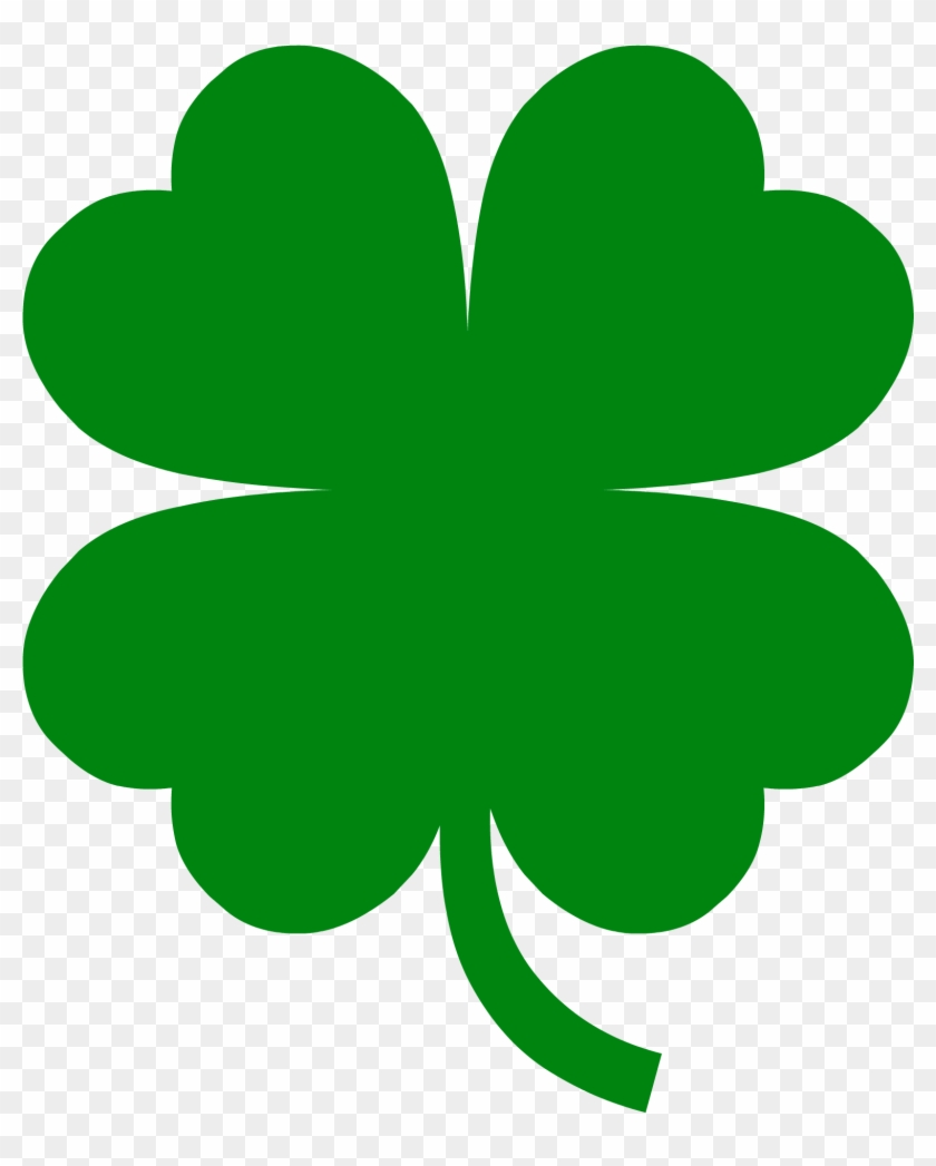 It S Here Pictures Of A Four Leaf Clover Image 4 Leaf Clover Template Free Transparent Png Clipart Images Download