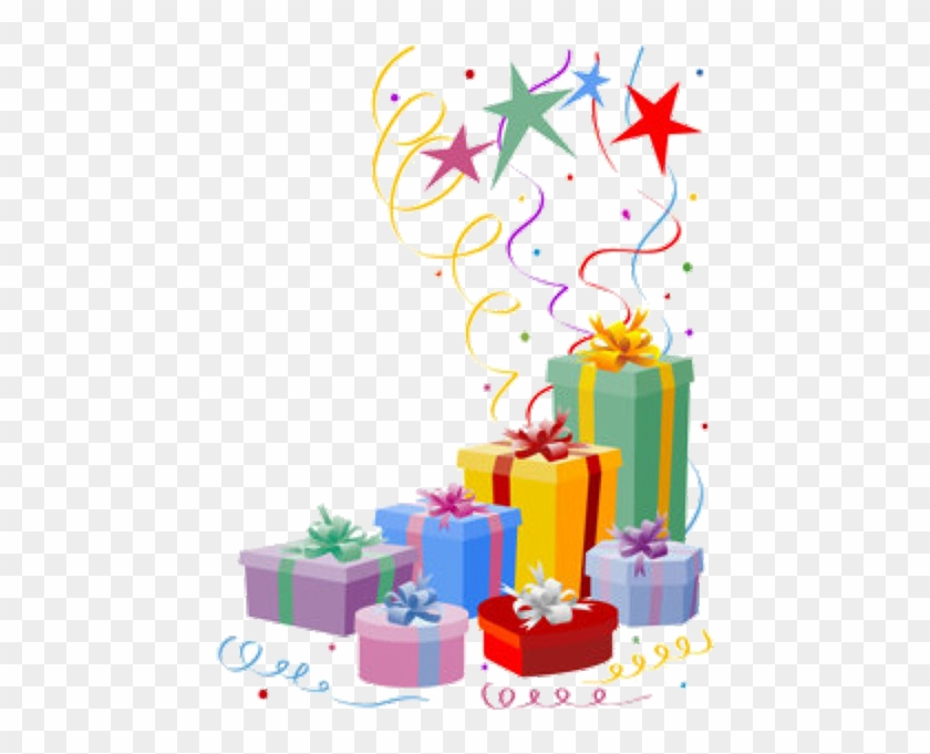 Gifts Birthday Cake And Gift Png Free Transparent Png Clipart Images Download