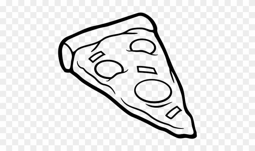 Delicious Juicy Slice Of Pizza Coloring Page Delicious Juicy Slice Of Pizza Coloring Page Free Transparent Png Clipart Images Download