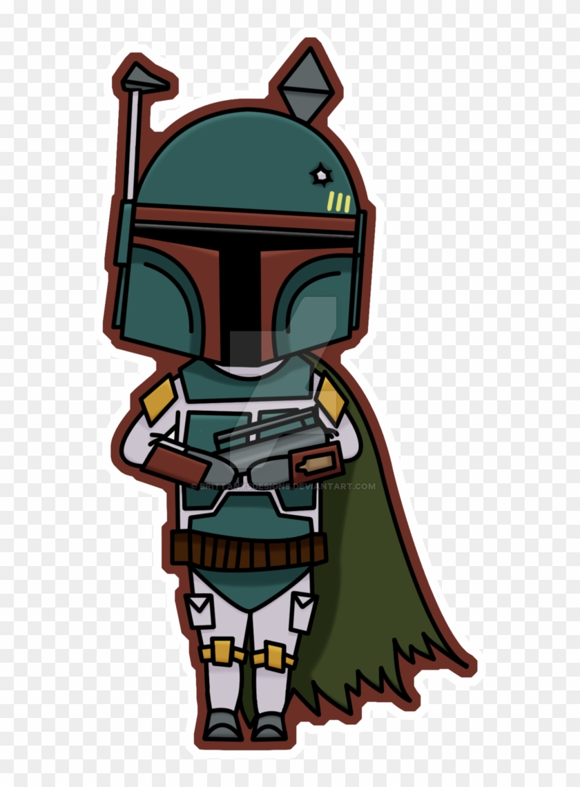 28 Collection Of Chibi Boba Fett Drawing Star Wars Boba Fett Chibi Free Transparent Png Clipart Images Download