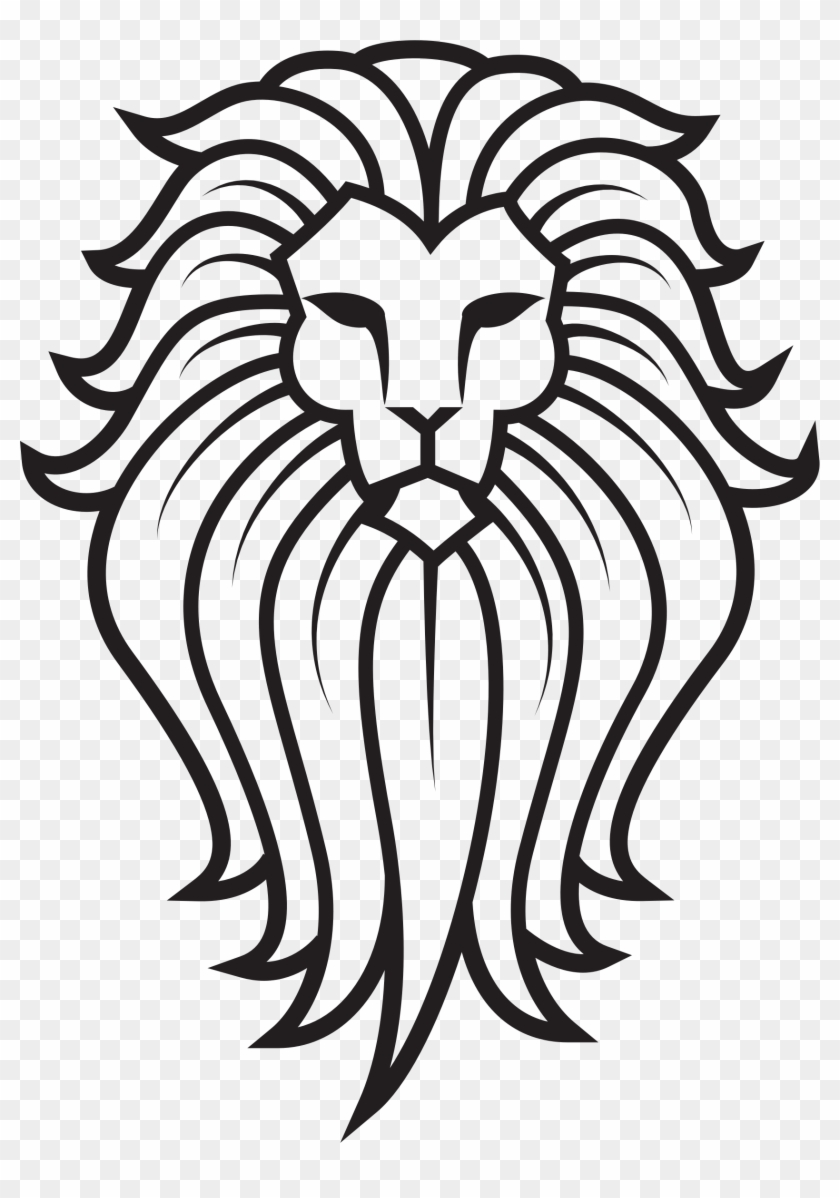 Clipart Lion Face Tattoo Free Transparent Png Clipart Images Download