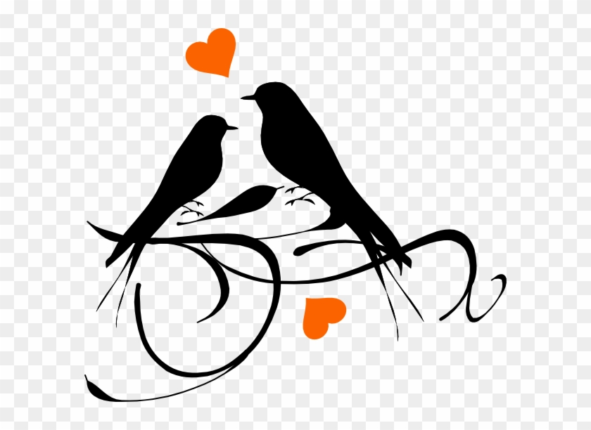 Download How To Set Use Birds On A Branch Hearts Svg Vector - Love ...