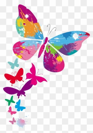 Butterfly Color Clip Art Facebook Greetings Happy Birthday Daughter Free Transparent Png Clipart Images Download