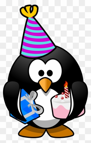 This Free Icons Png Design Of Party Penguin Happy Birthday Penguin Meme Free Transparent Png Clipart Images Download