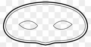 Mardi Gras Mask Template Mardi Gras Mask Template 83262 Modello Maschera Di Carnevale Free Transparent Png Clipart Images Download