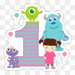 Baby Monsters Inc 1st First Birthday By Sweetsisters Numero 2 Monster Inc Free Transparent Png Clipart Images Download