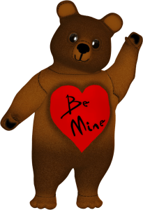 Valentine Bear Clipart