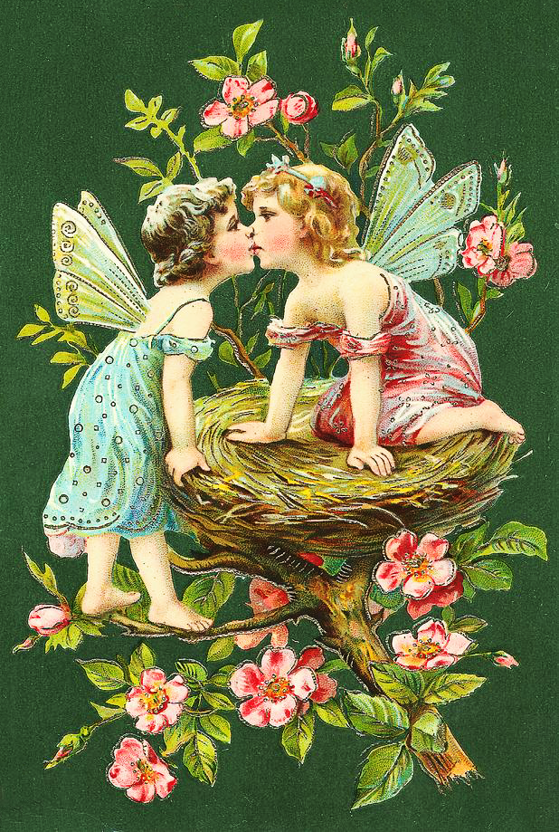 Fairy Kiss Clipart