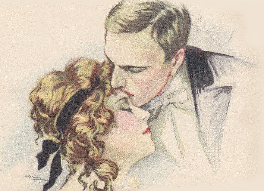 Loving Kiss Graphic
