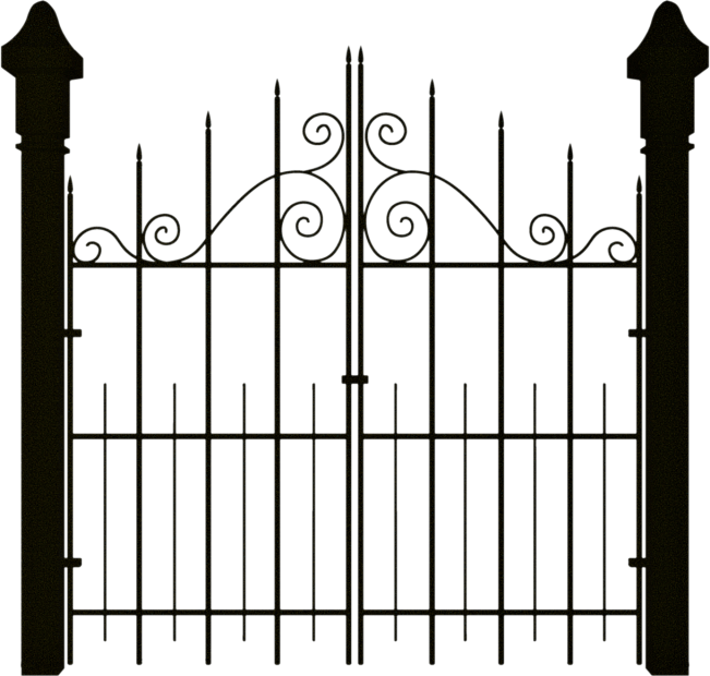 Spooky Gate Clipart
