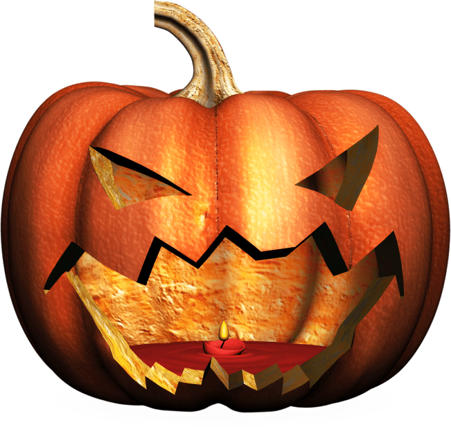 Free Jack-o-lantern clipart