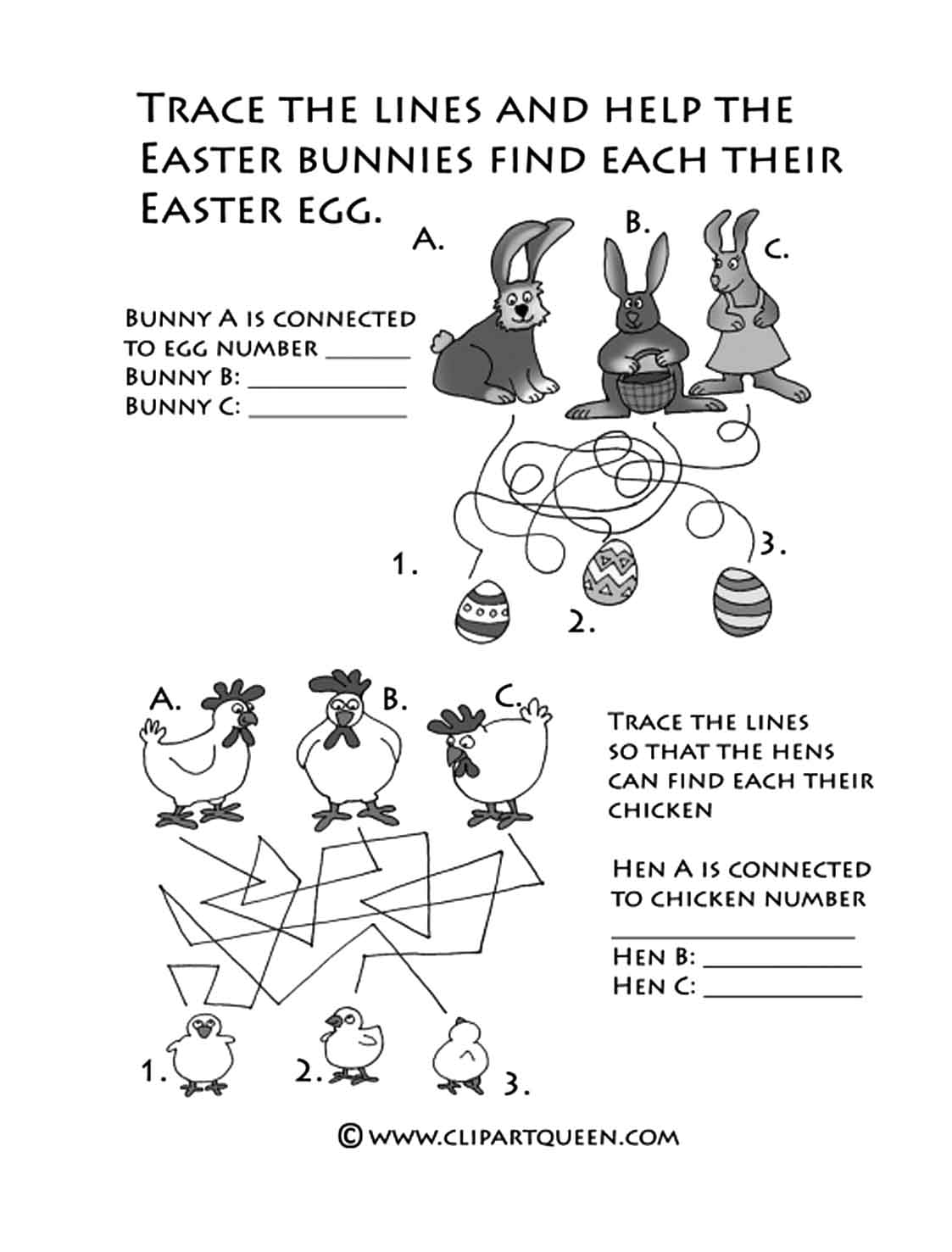 Chickens Rabbits Worksheet