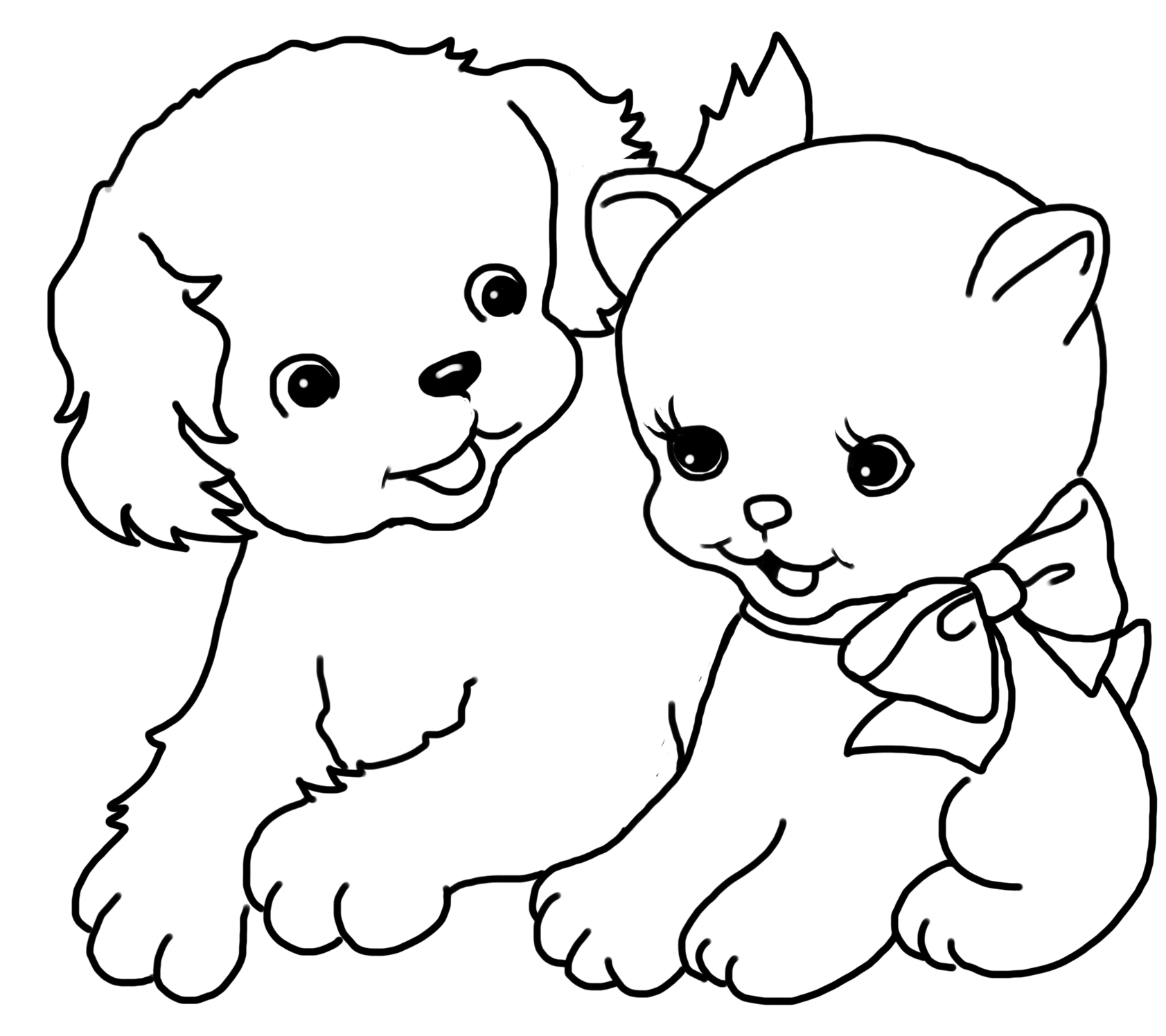 Cat Coloring Pages