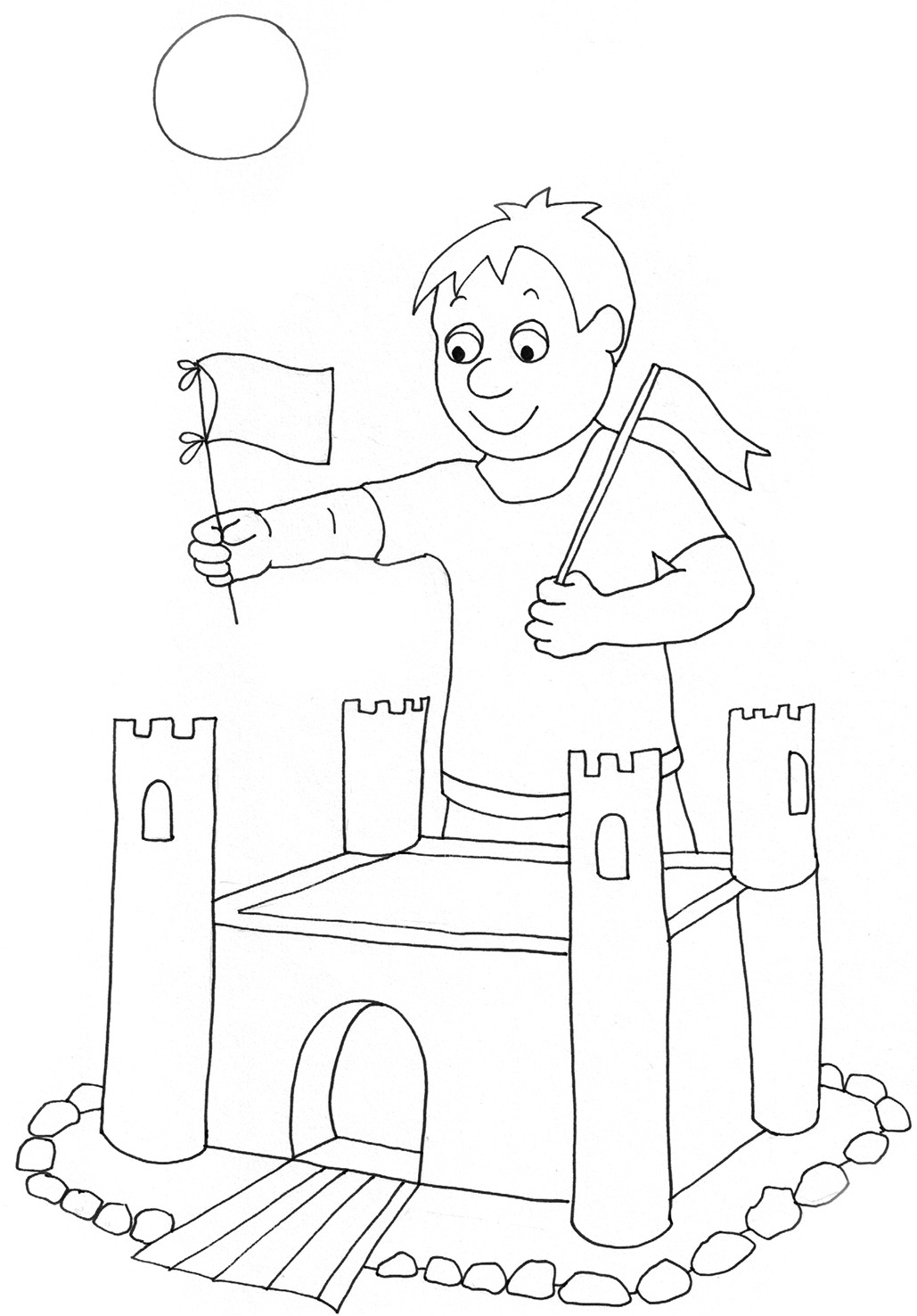 summer coloring pages to