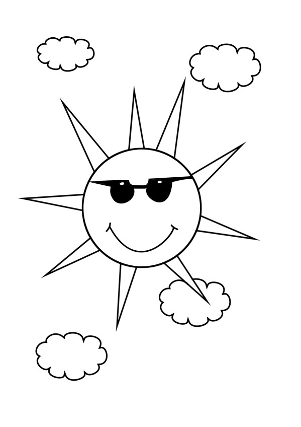 summer coloring pages printable # 61