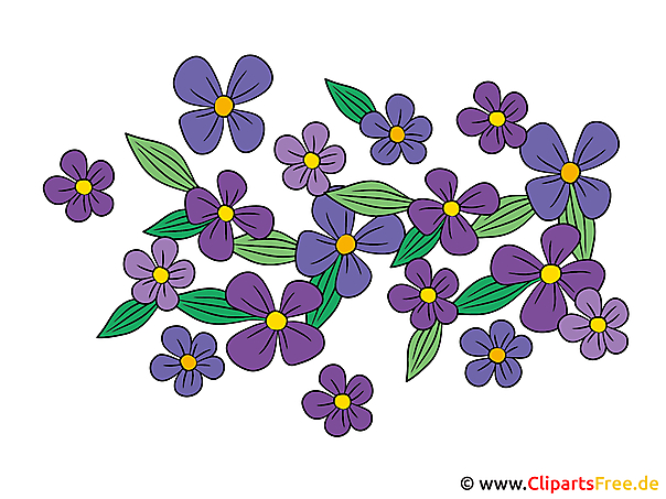 Clipart Blumen Gratis