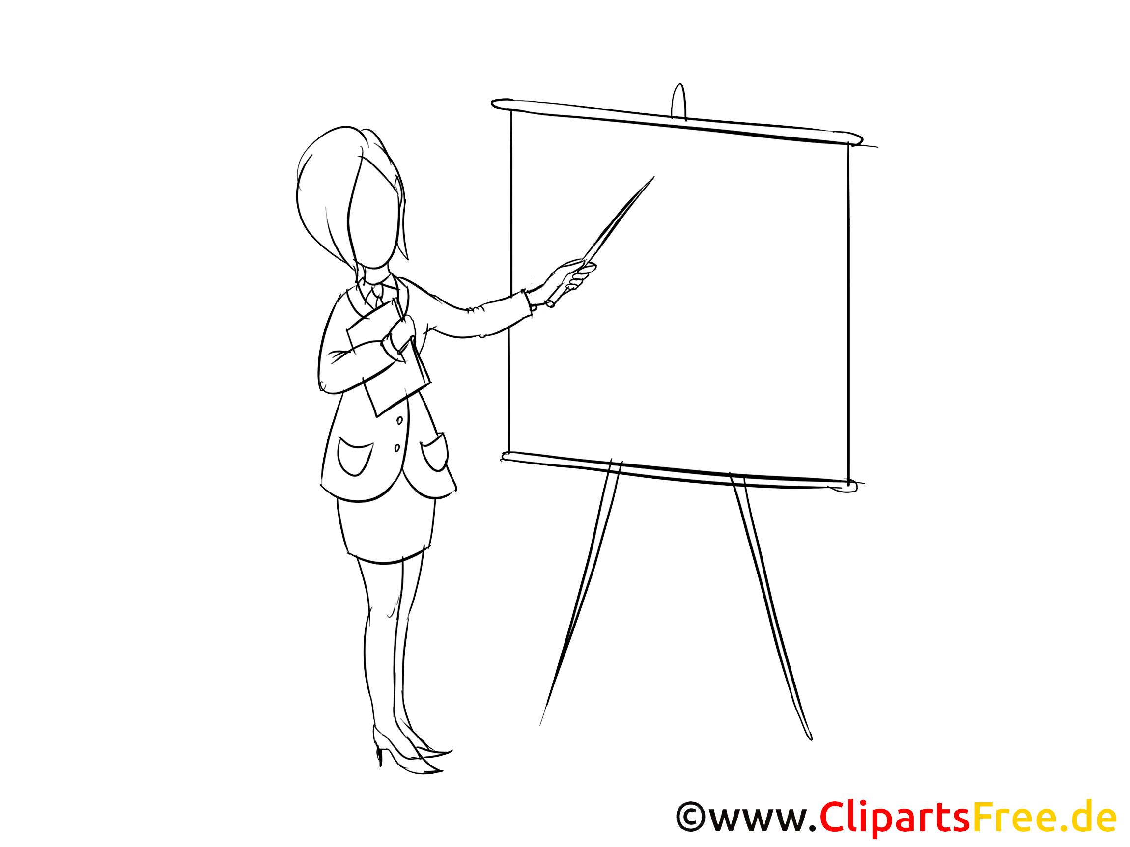 Geschaeftsfrau Clipart Bild Zeichnung Grafik