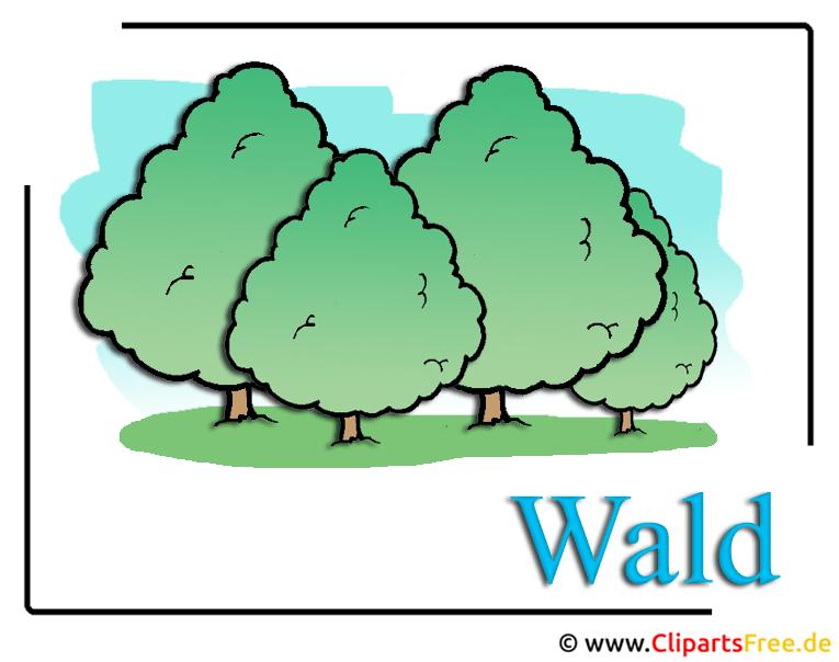 Wald Clipart Bild Free
