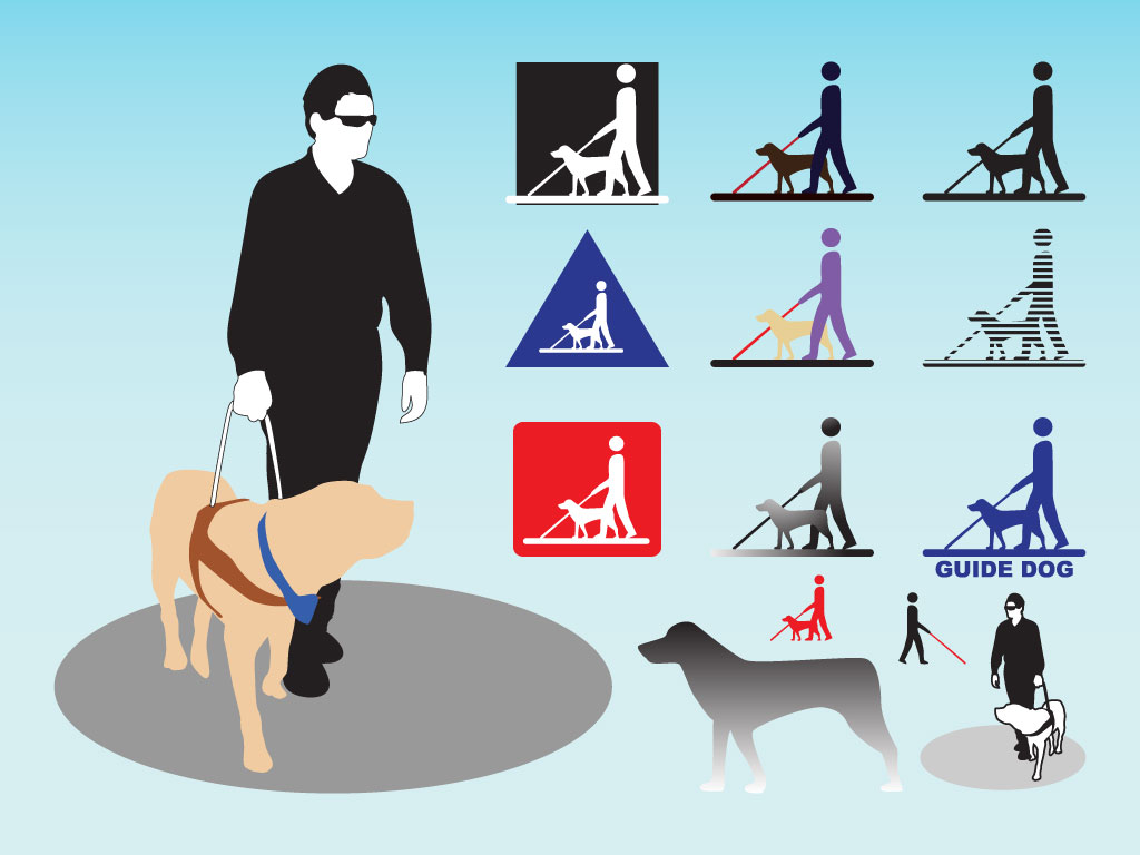 Guide Dog Clipart