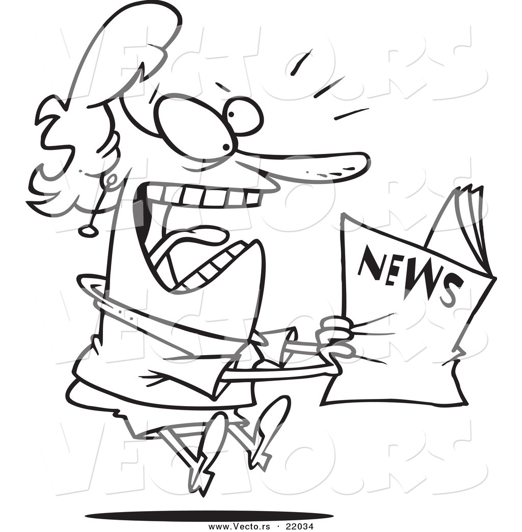 Exciting News Clipart