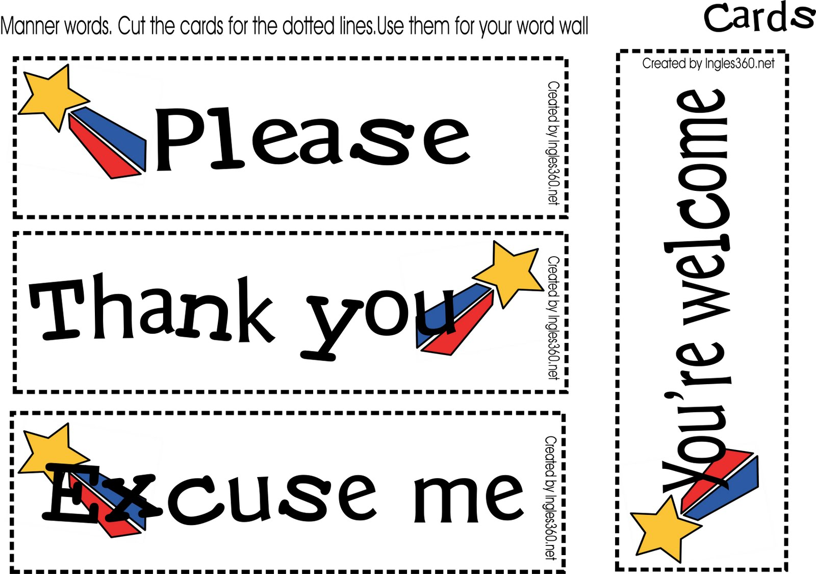 Manners Clipart