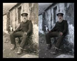 fix Water Damaged Photo Restoration
