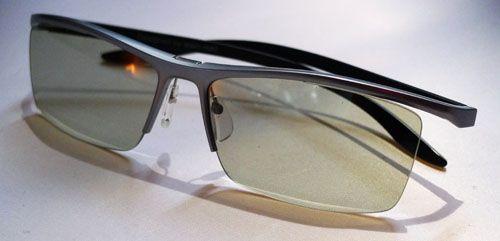 LG 3D glasses alain mikli