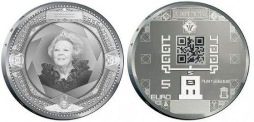 qr-code-coin moneda codigo QR