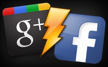 google + contra facebook redes sociales clipset