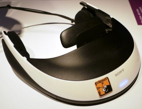 sony hmz T1 3d visor personal