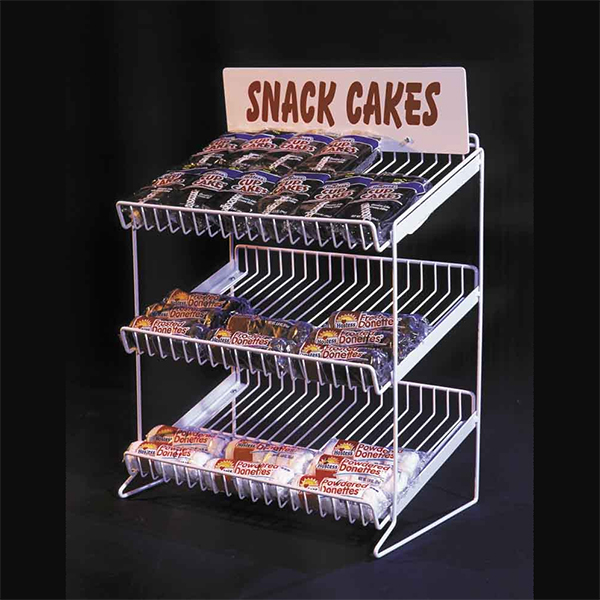 wire shelf countertop display rack with 3 tiers shelves swcd 320
