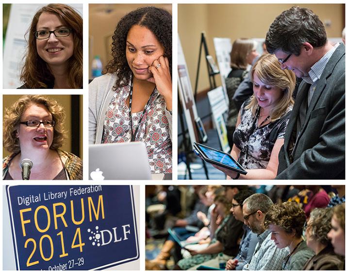 Participants at the 2014 DLF Forum held in Atlanta in October