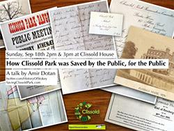 Saving Clissold Park talk