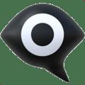 Eye in Black Speech Bubble Emoji