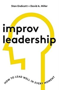 Book cover of Improv Leadership