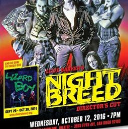 Nightbreed: Director's Cut and Lord of Illusions Screenings!