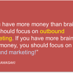 If you have more brains than money…