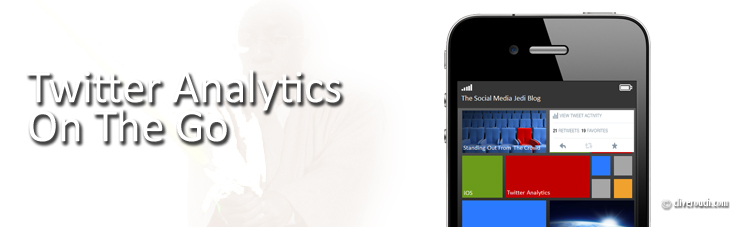 Twitter Analytics On The Go