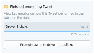 Introducing Twitter Quick Promote - Typical results