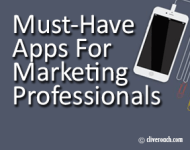 Must have apps for marketing professionals