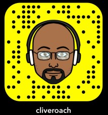 Clive Roach Snapcode