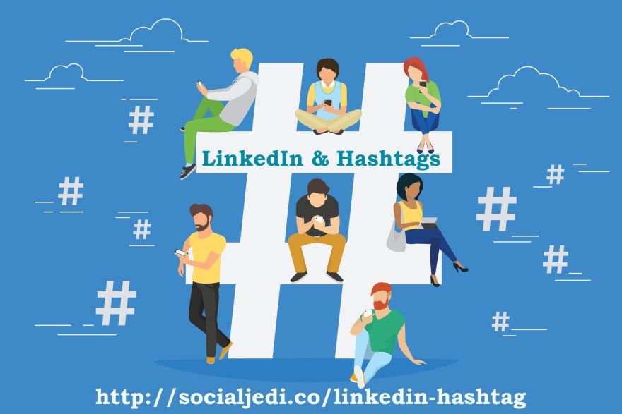 Linkedin and hashtags