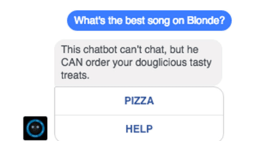 The Domino's ChatBot Knows Nothing About Philosophy