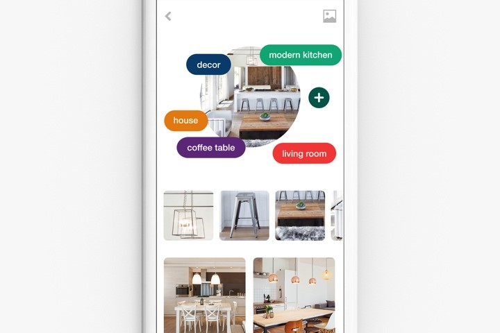 Pinterest the future of online search is visual with Pinterest Lens