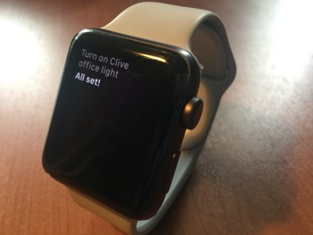 Siri and apple watch and Philips Hue