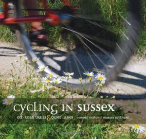 Cycling in Sussex book cover