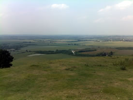 Panoramic view from the Ridgeway Trail