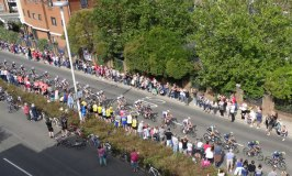 Tour of Britain cyclists