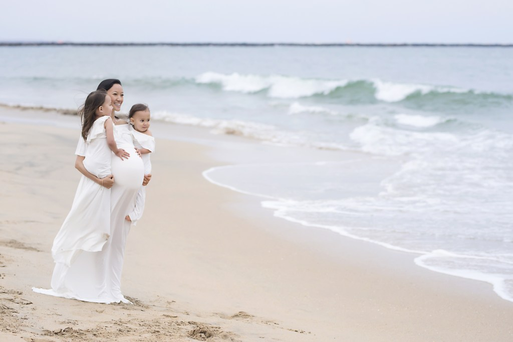 Beach Baby Moon Maternity Photographer CLJ Photography